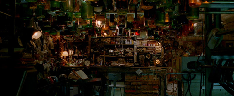 The workplace of Beeman, he supplies the main character with information and tools · Constantine 2005