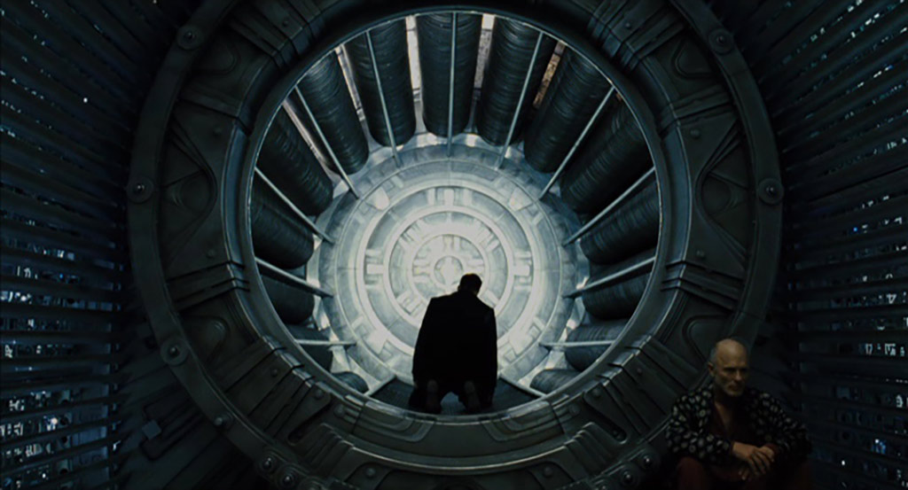 """The perpetual motion machine in front of the train in Joon-ho Bong's movie """"Snowpiercer"""""""